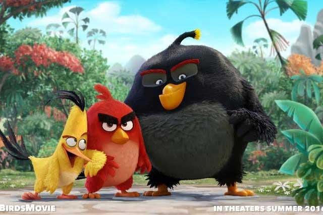 Presentan tráiler de la película de los Angry Birds