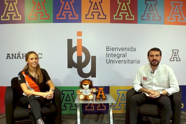 Anáhuac Puebla recibe de forma virtual a alumnos de nuevo ingreso