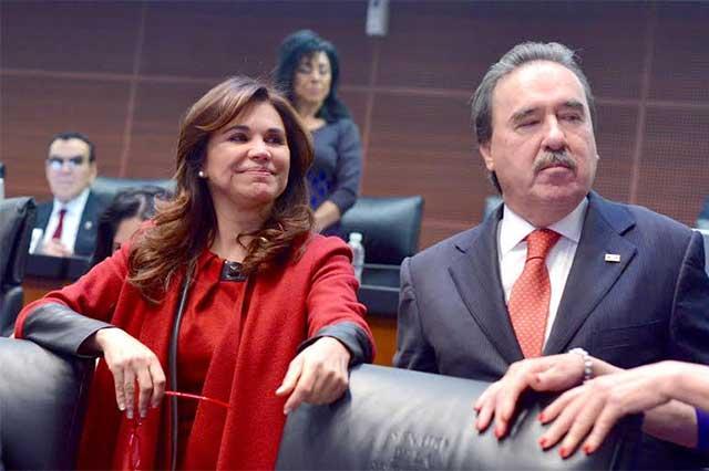 Avala el Senado licencia solicitada por Blanca Alcalá