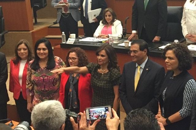 Blanca Alcalá rinde protesta como embajadora en Colombia