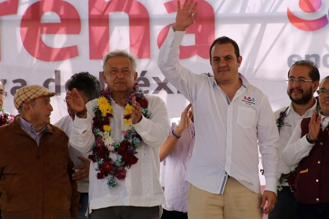 Avalan candidatura de Cuauhtémoc Blanco a la gubernatura de Morelos
