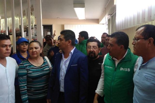 Bloquean inscripción de planillas para renovar sindicato del IMSS