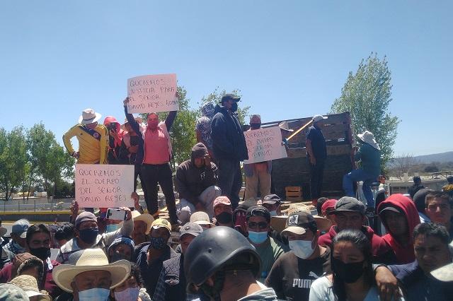 Homicidio enardece a Tlahuapan; bloqueos en la México-Puebla