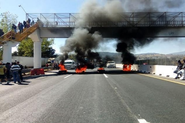 Bloqueos en carreteras reflejan inoperancia de las policías: Upaep