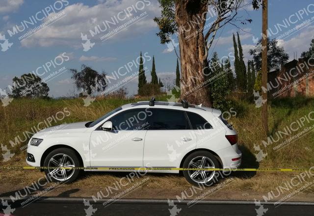 Asesinan a conductor de Audi en San Matías Tlalancaleca