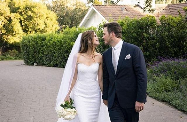 Chris Pratt y Katherine Schwarzenegger ya se casaron