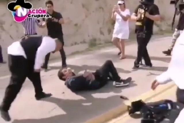 Guardias agreden a periodistas en la boda de Chiquis Rivera