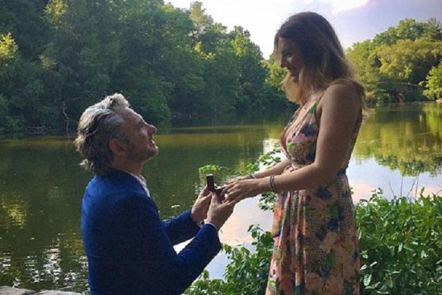 Harry Geithner y Alejandra Silva ya son marido y mujer