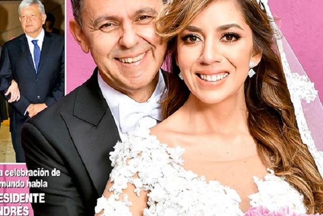 Tunden a Morena en Twitter por boda fifí publicada en Hola