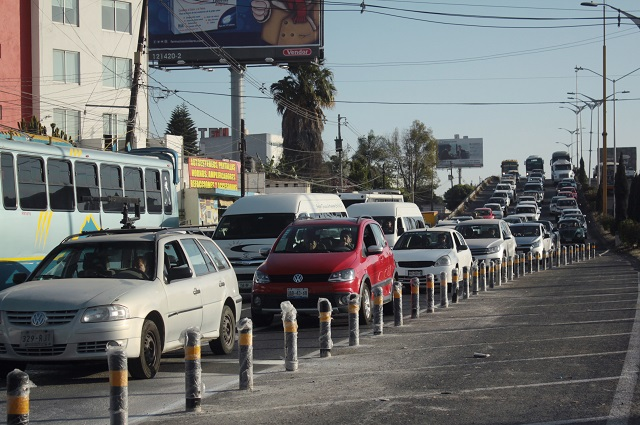 Suman más de mil los bolardos colocados en calles de la capital