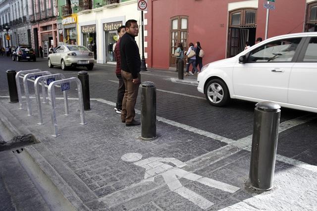 Deben ser peatonales calles del Centro de Puebla: especialista