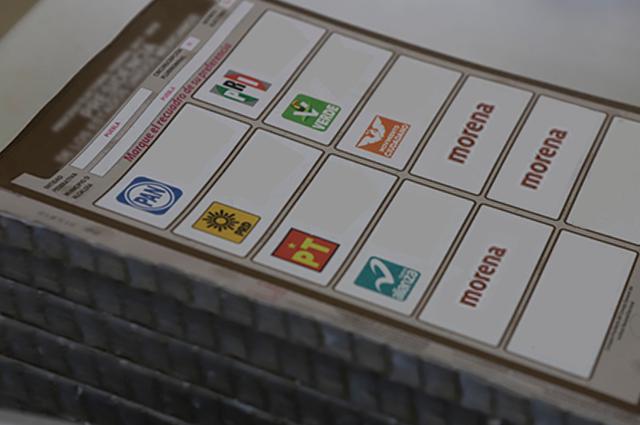 Candidato de Morena aparecerá 3 veces en la boleta electoral