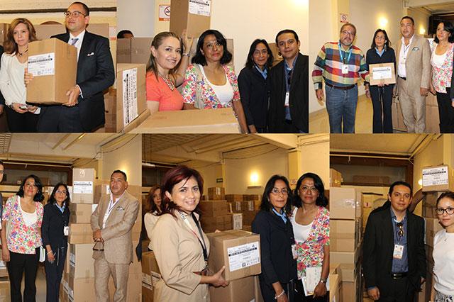 IEE realiza la entrega-recepción de boletas en municipio de Puebla