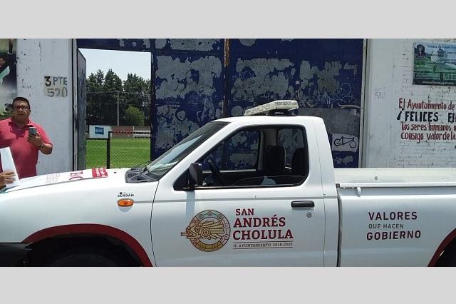 Cancelan canchas de fútbol en Cholula por faltar a medidas contra Covid