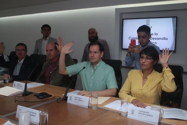 Aprueban diputados apoyar a Mipymes en municipios del estado