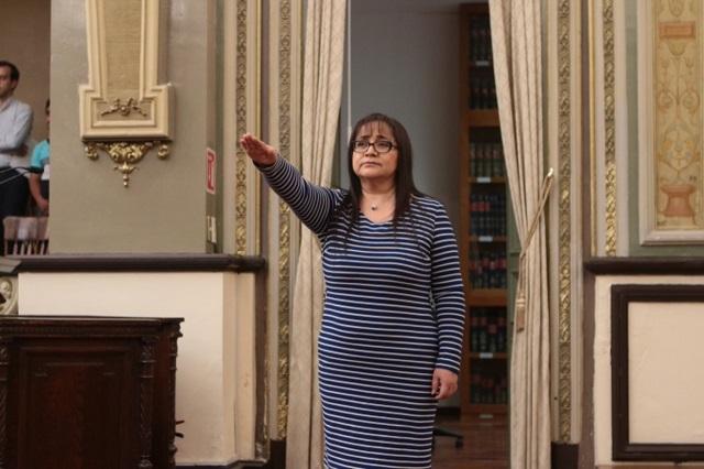 María del Rosario Evangelista ya es secretaria general del Congreso
