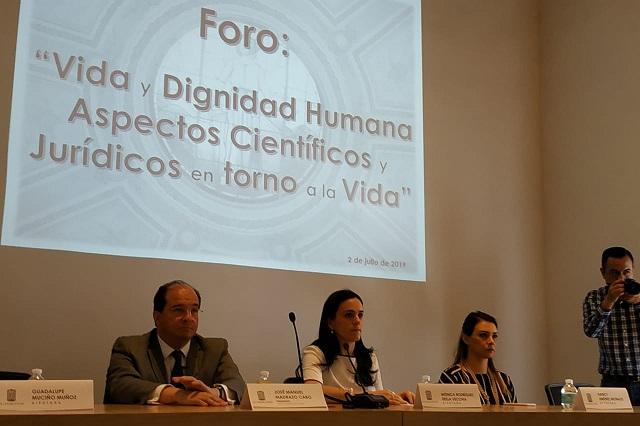 """Congreso del Estado realiza foro """"Vida y Dignidad Humana"""""""