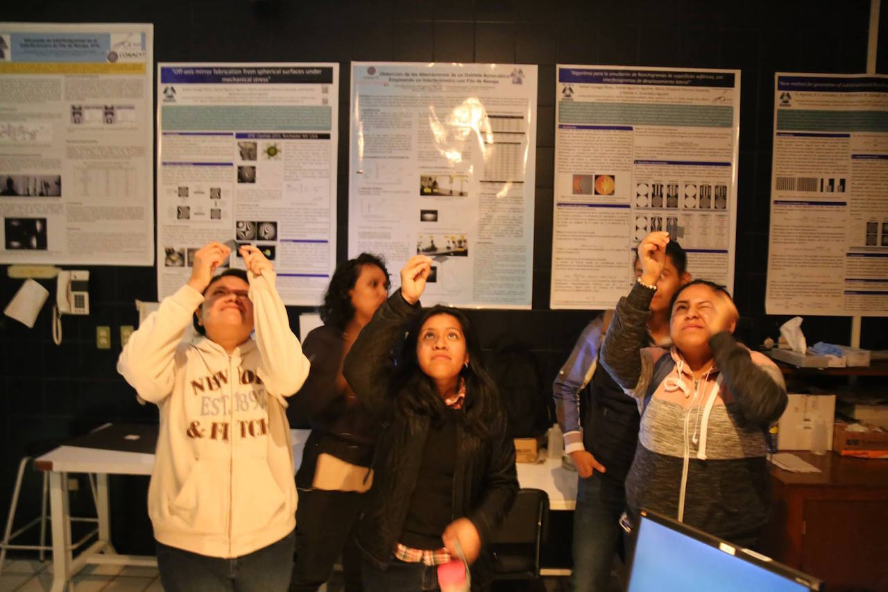Proyecto INAOE estimula inclusión de jóvenes mujeres en área de ciencias