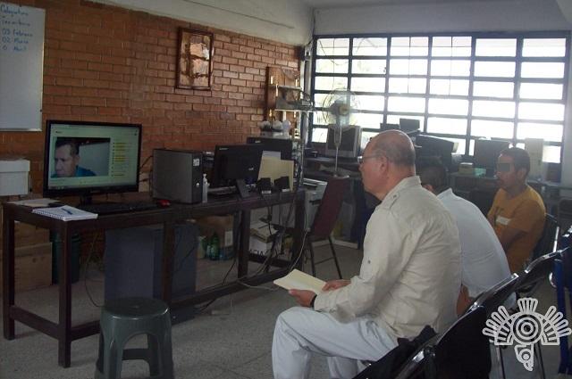 Más de mil 700 reclusos estudian en los ceresos de Puebla