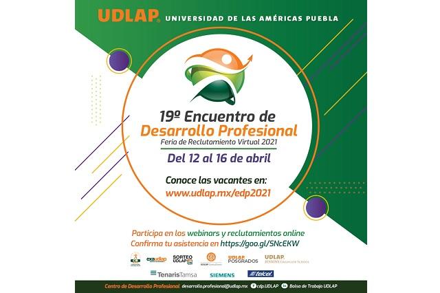 Alista UDLAP feria de reclutamiento virtual con más de 200 empresas