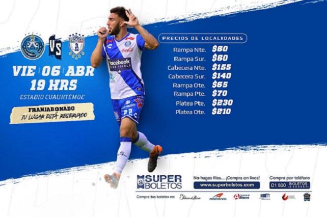 Nuevamente el Club Puebla comparte boletos accesibles