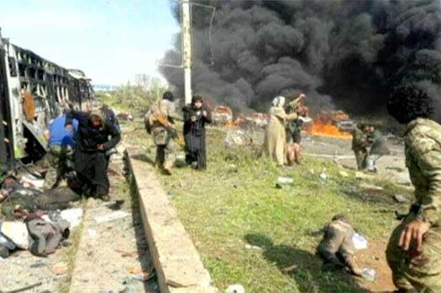 Ataque con coche bomba en Siria deja un saldo de 43 personas muertas