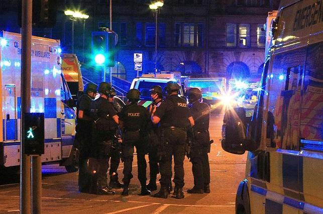Las fotos de la bomba usada por el terrorista suicida en Manchester