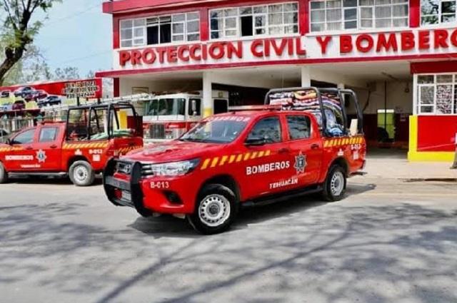 Cumple 60 años cuartel de Protección Civil y Bomberos de Tehuacán
