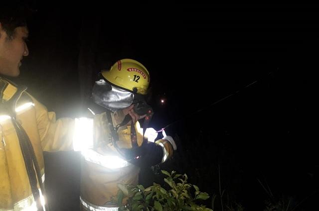 Mujeres de 67 y 72 años pierden su casa por incendio en Cuacuila