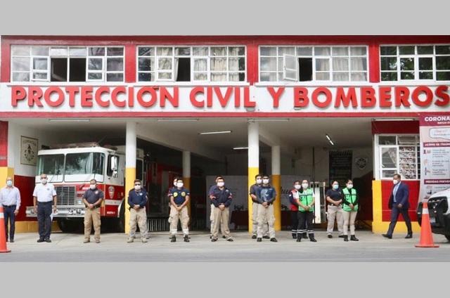 Equipa fundación Montosa con herramientas a PC de Tehuacán