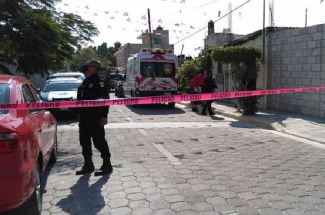 Niño de un año y medio muere tras caer a un balde en Tehuacán