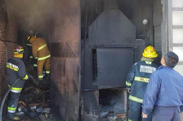 Bomberos sofocan incendio en la Guadalupe Hidalgo