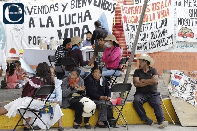 Bonafont denuncia a invasores de su planta en Juan C Bonilla