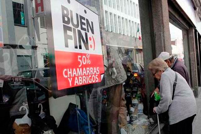Por El Buen fin, espera comercio derrama de 11 mil mdp