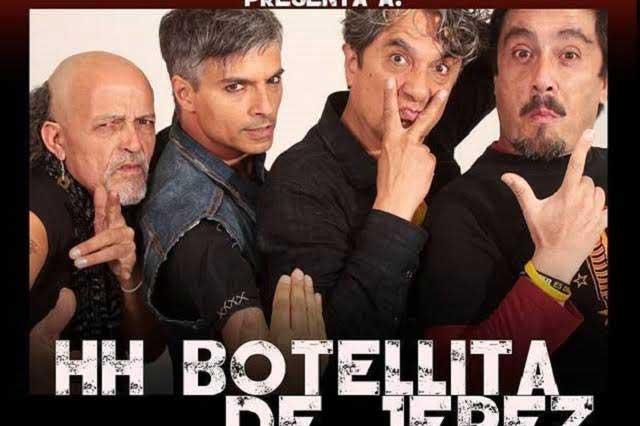 Regresa la legendaria banda Botellita de Jerez a Puebla