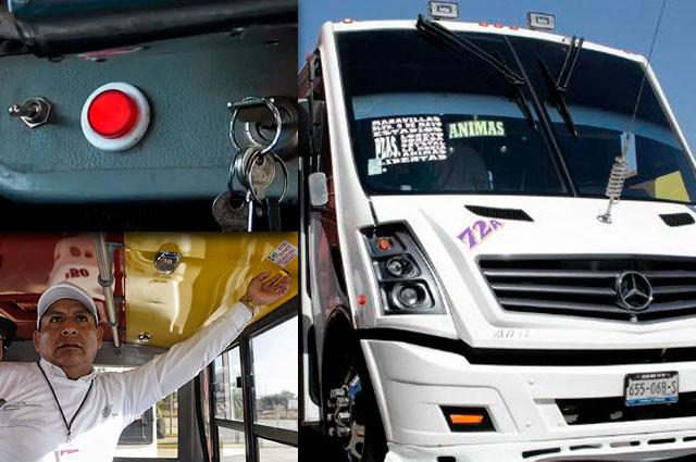 Falla conexión de botones de pánico en transporte, admite SSP