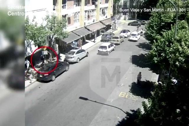 Mujer agredida por su ex activa botón de pánico y la rescatan