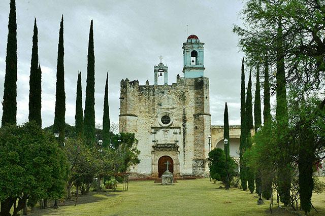 Resurge decoración original de bóveda del siglo XVI en Huaquechula