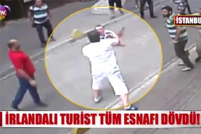 Comerciantes turcos atacan a turista que es boxeador profesional