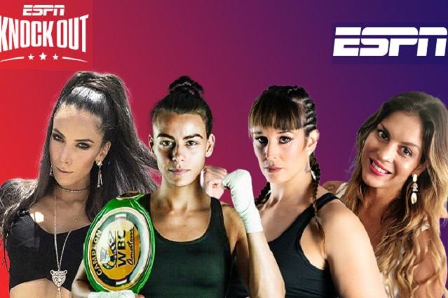 Anuncian equipo 100% de femenil para conducir ESPN Knockout
