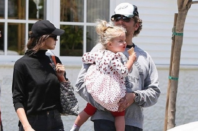 Irina Shayk y Bradley Cooper compartirán custodia de su hija