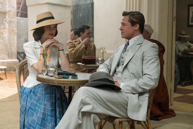 Brad Pitt y Marion Cotillard juntos en el teaser tráiler de Aliados