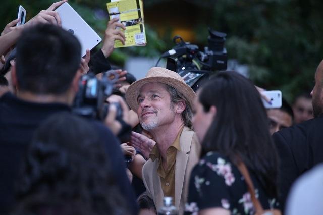 Fotos de la visita de Brad Pitt a México
