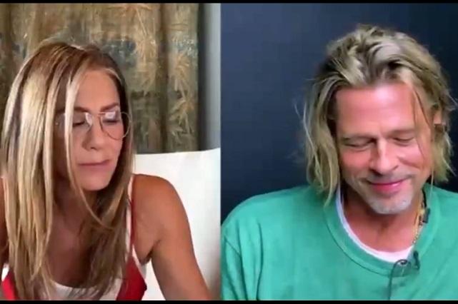 Brad Pitt y Jennifer Aniston encienden las redes por leer guion