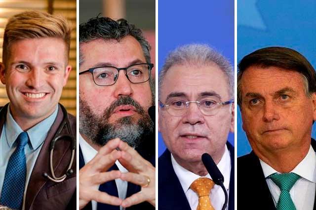 Senadores de Brasil piden 100 años de cárcel para Bolsonaro