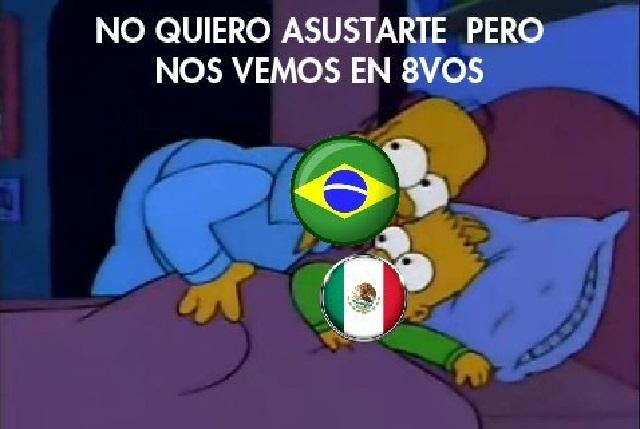 ¿Pensar cosas chingonas o rezar? Los memes del México vs Brasil