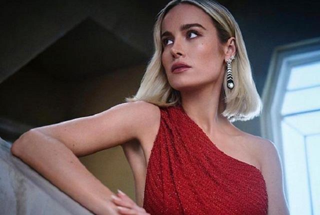 Enseñan presuntas fotos de Brie Larson, Capitana Marvel