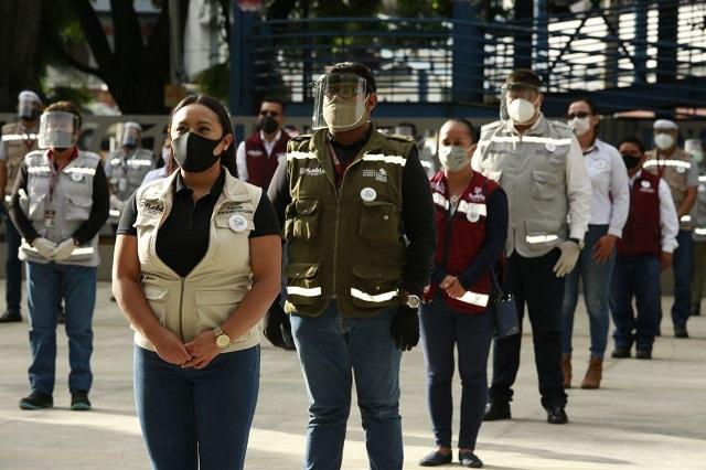 Reseña Claudia Rivera acciones contra  Covid-19  en la capital