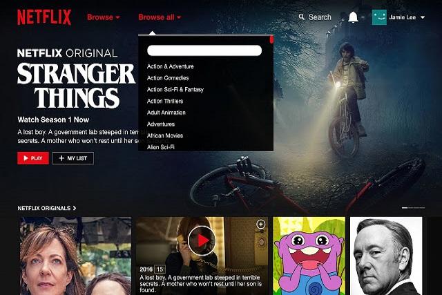 Foto / captura de pantalla Netflix