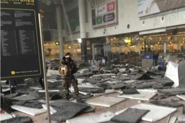 ISIS se adjudica ataques al Metro y aeropuerto de Bruselas